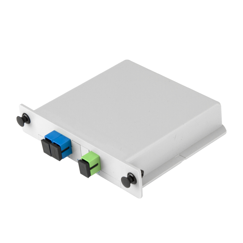 SC UPC 1x2 Fiber Optic PLC Splitter