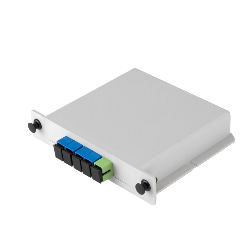 SC UPC Fiber Optic 1x4 PLC Splitter
