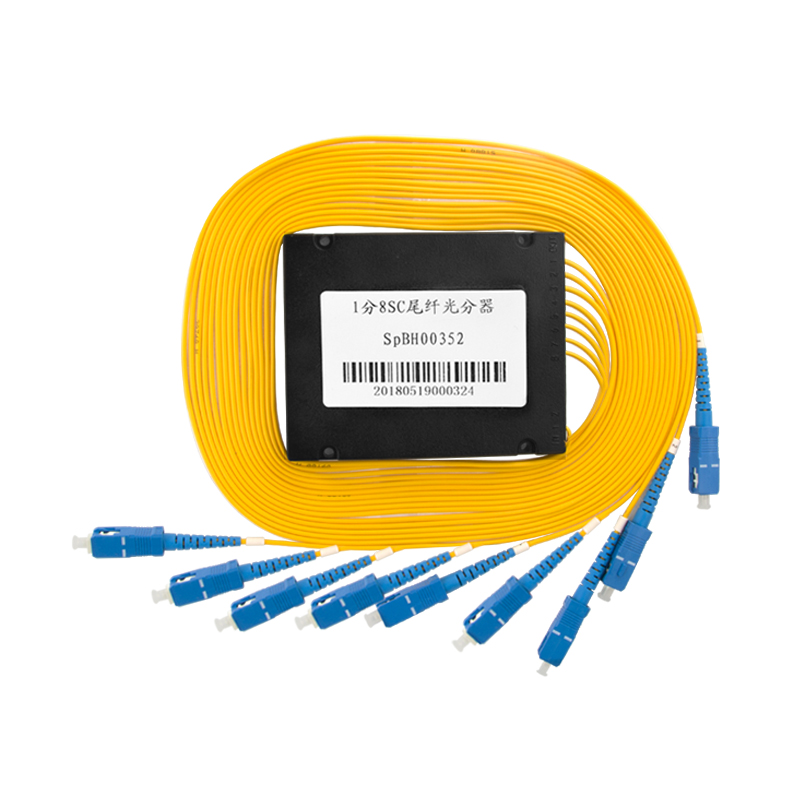 1X8 Fiber Optic PLC Splitter