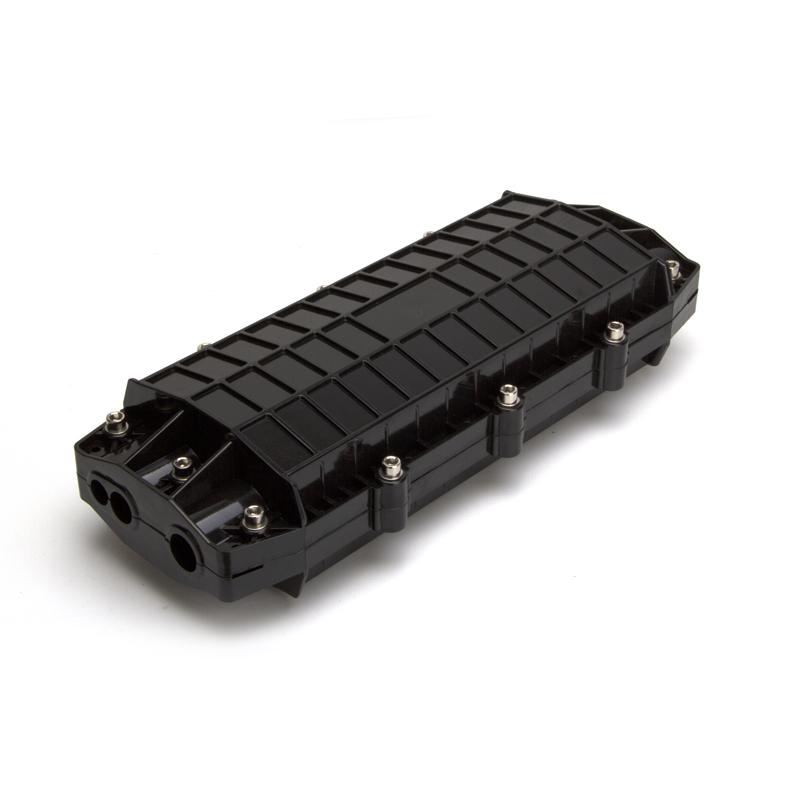 24 48 72 Core 3 In 3 Out Fiber Optic Cable Splice Enclosure