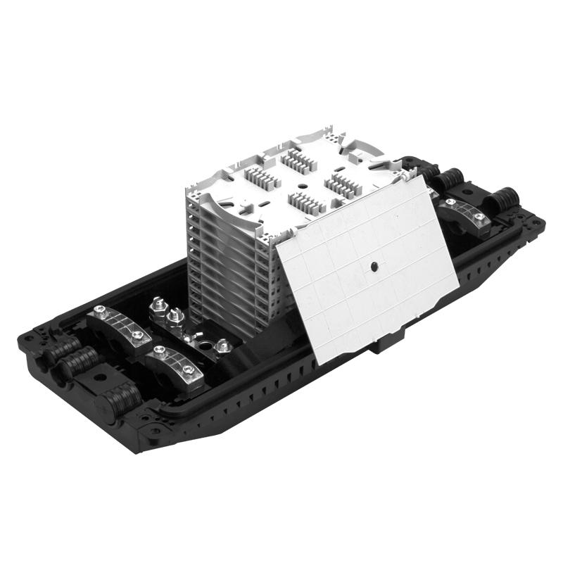 96 144 288 Core 3 In 3 Fiber Optic Splice Enclosure Box