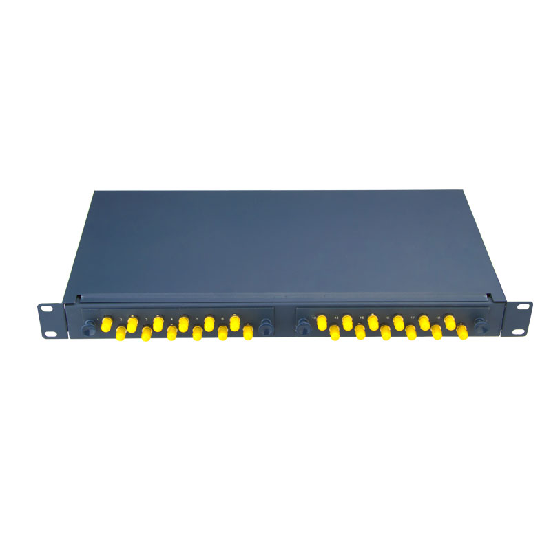 ST 24 Port Fiber Optic Patch Panel