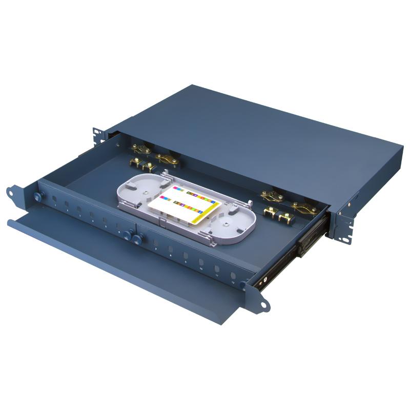 Sliding Type 12 Port FC ST Fiber Optic Patch Panel