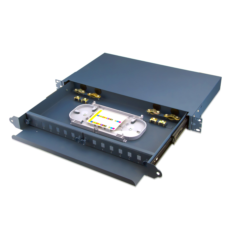 Sliding Type 12 Port SC Fiber Optic Patch Panel
