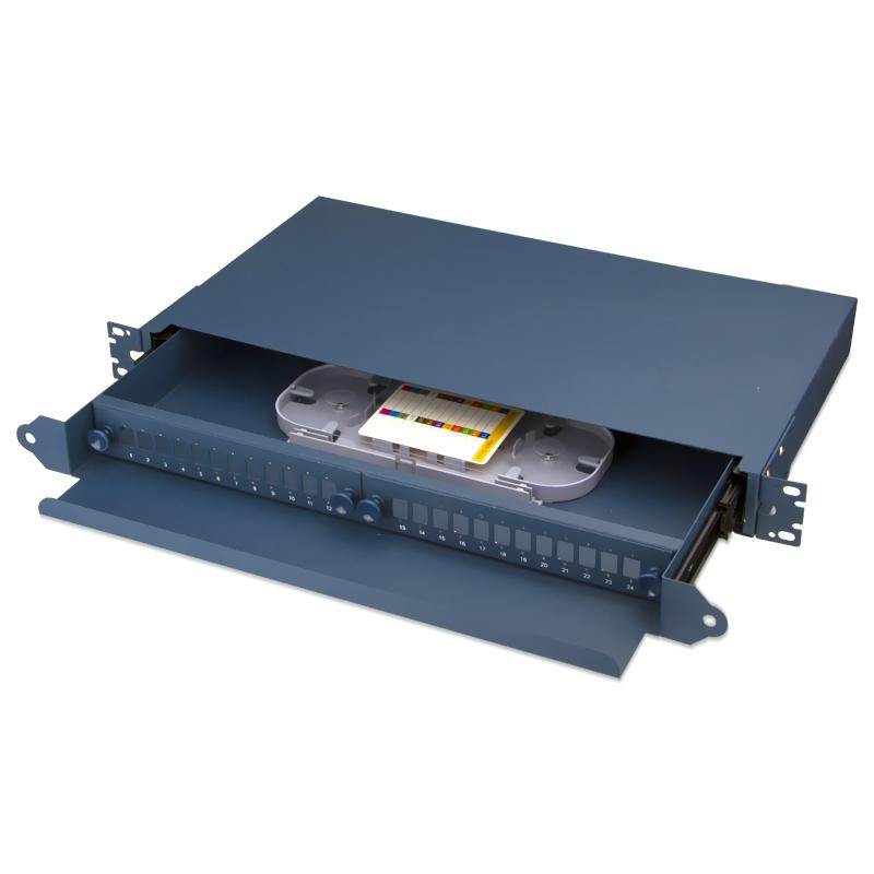Sliding Type 24 Port SC Fiber Optic Patch Panel
