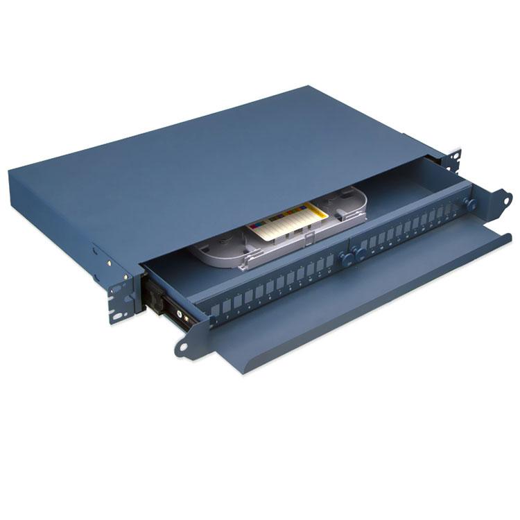 48 Port LC Fiber Optic Patch Panel