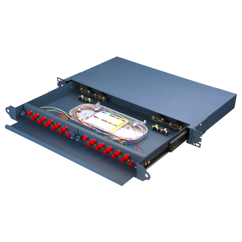Sliding Type 24 Port FC Fiber Optic Patch Panel