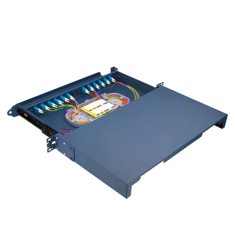 Sliding Type 24 Port LC Fiber Optic Patch Panel