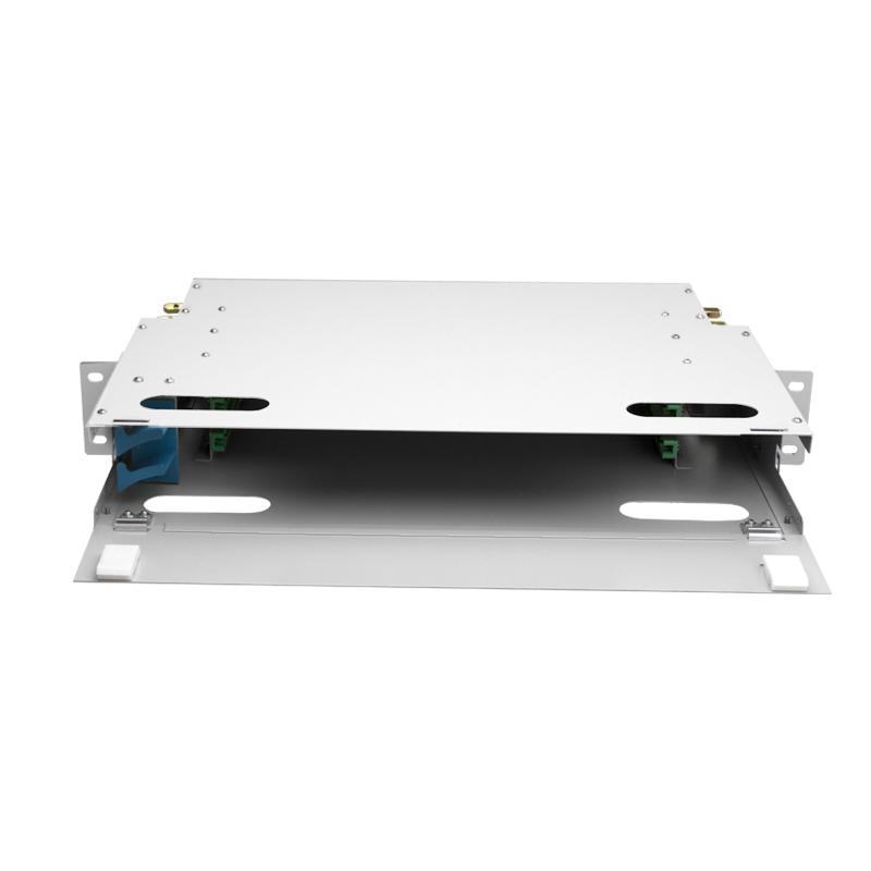 Empty Container ODF 24 Port Fiber Optic ODF
