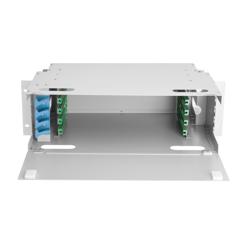 Empty Container ODF 48 Port Fiber Optic Distribution Frame