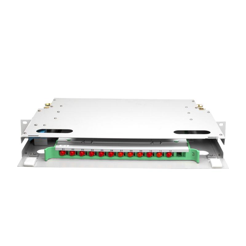 Full Load 12 Port Fiber Optical Distribution Frame ODF