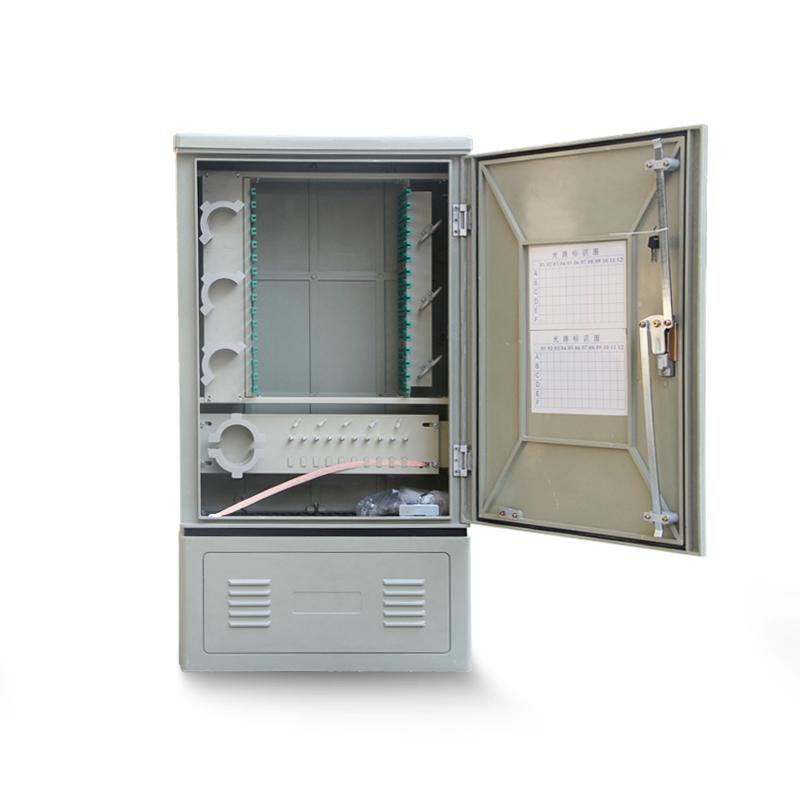 Floor-Standing 72 96 144 Core Optic Cross Connect Cabinet