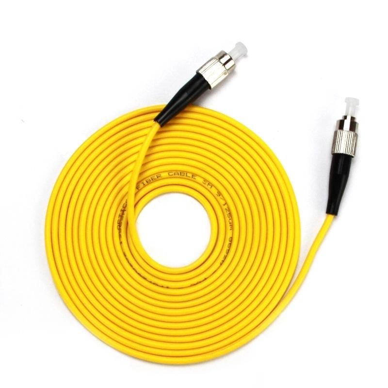 Gigabit Single Mode FC TO FC Fiber Optic Cable Patch Cord