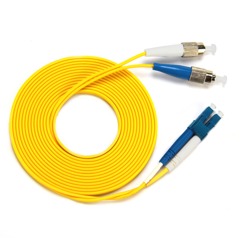 Gigabit Single Mode FC TO LC Optic Fiber Patch Cord