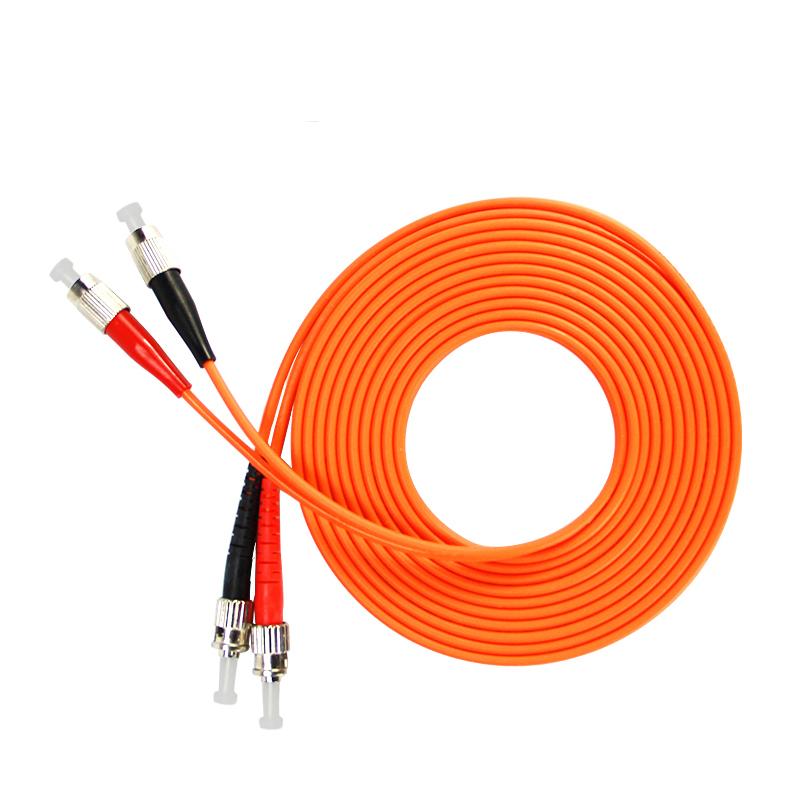 Gigabit Multimode FC TO ST Patch Cord Fiber Optic Jumper