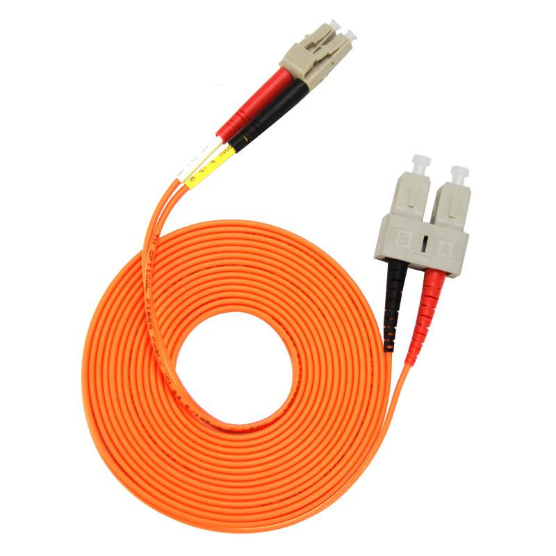 Gigabit Multimode LC TO SC Fiber Optic Patch Cord