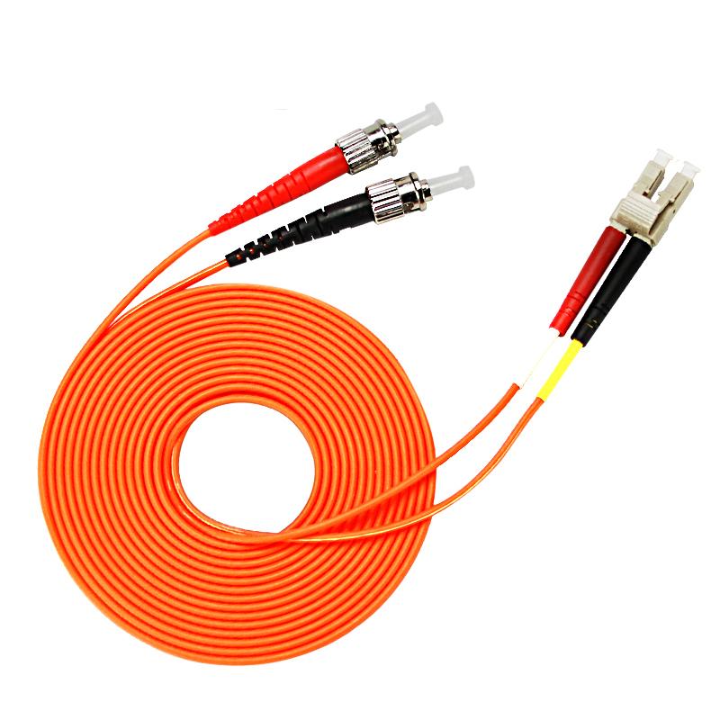 LC TO ST Gigabit Multimode FTTH Fiber Optic Jumper