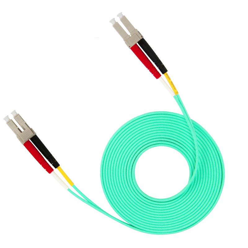 10 Gigabit Multi Mode LC TO LC Fiber Optic Patch Cord