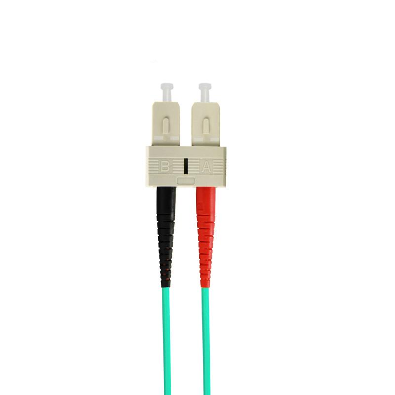 10 Gigabit Multi Mode SC TO SC Fiber Optic Patch Cord