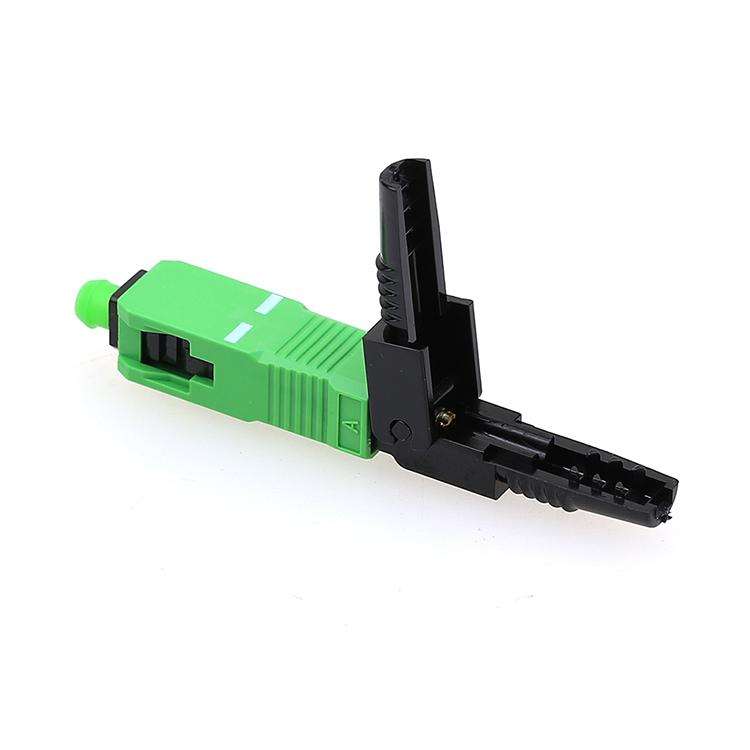 SC APC Fiber Optic Fast Connector