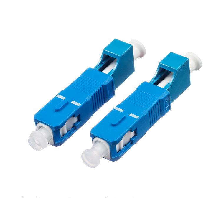 SC Male to LC Female Fiber Optic Adapter