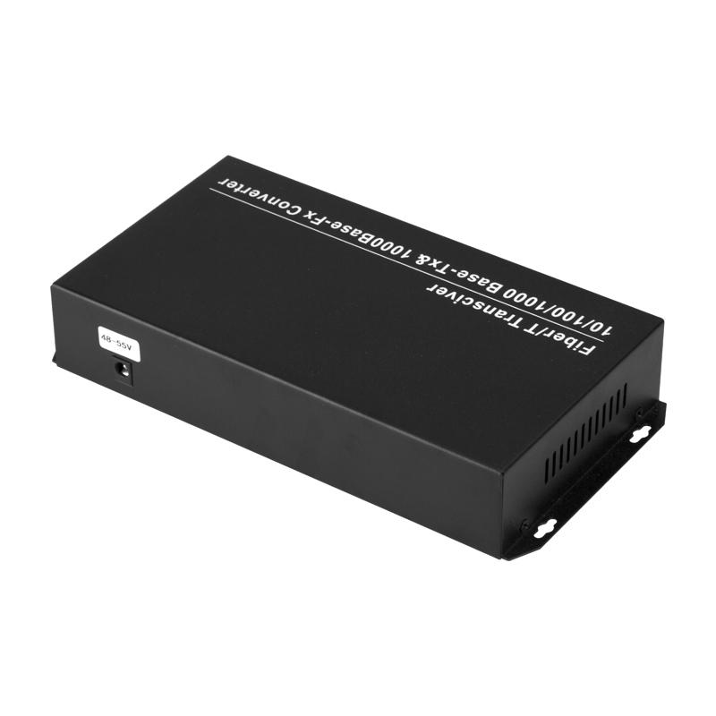 8 Port 1000M POE Fiber Optic Switch + 2 Port 1000M Optical Fiber