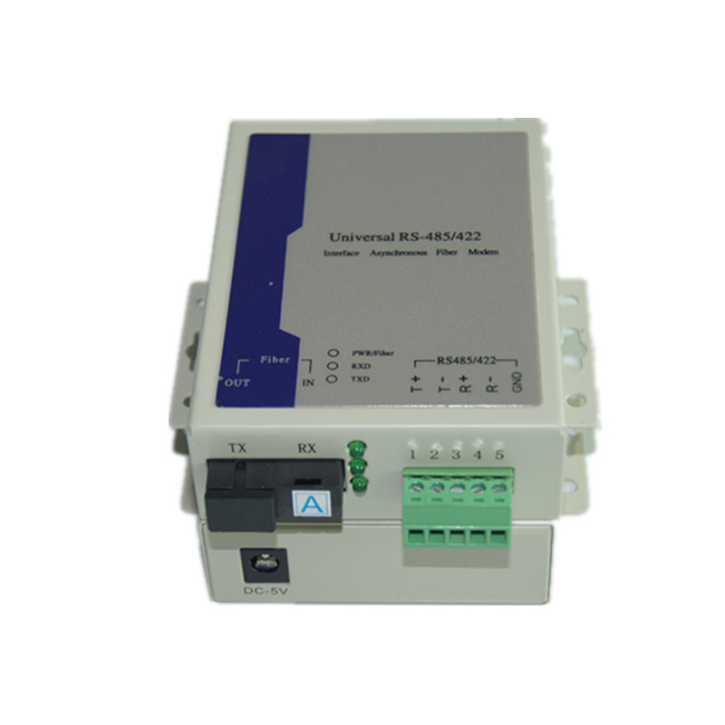 1 Channel RS485 Bidirectional Data Optic Converter