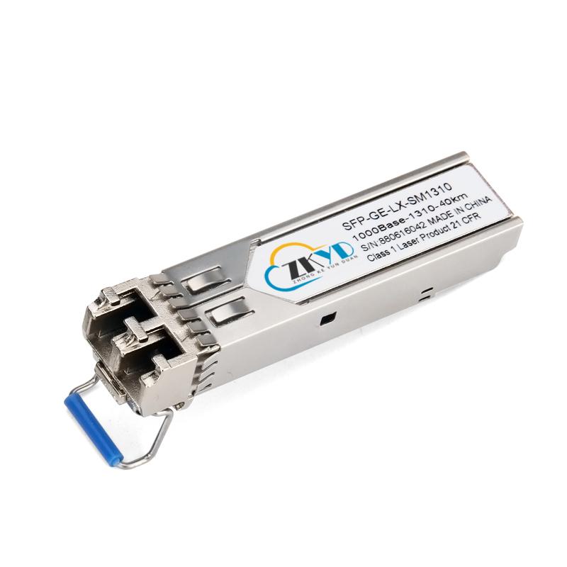 40KM 1.25G LC Connector Dual Fiber SFP Module